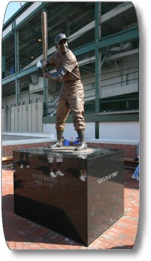 Ernie Banks statue